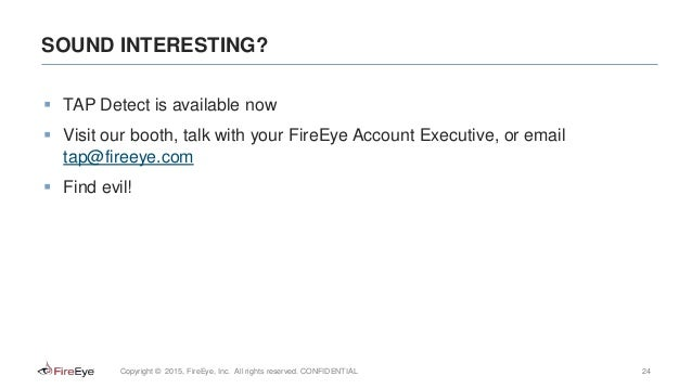 Detection and Response with Splunk+FireEye