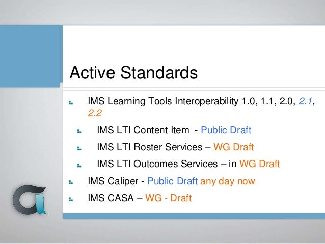 IMS Learning Tools Interoperability