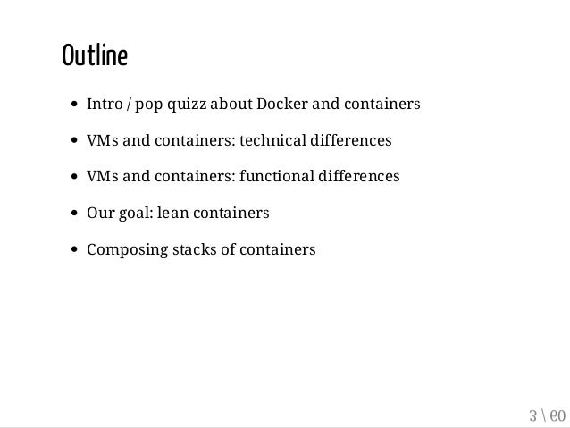 Implementing Separation of Concerns with Docker and Containers Slide 3