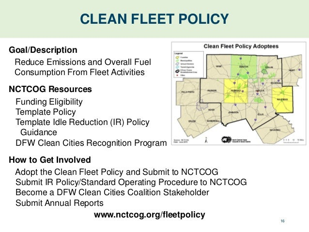 Topic north texas ozone in north texas opportunities for improvem 17 clean fleet policy pronofoot35fo Image collections