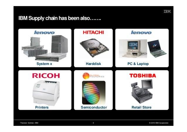 2015 06-17 - supply chaindays ibm presentation thorsten schroeer