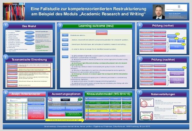 """Taxonomische Einordnung NotenverteilungenNiveaustufenmodell (WS 2014/15)Auswertungsoptionen Zwischenstopp """"Kompetenzorient..."""