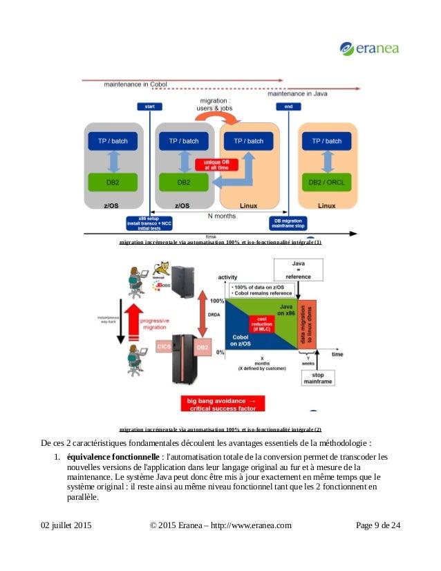 migration incrémentale via automatisation 100% et iso-fonctionnalité intégrale (1) migration incrémentale via automatisati...