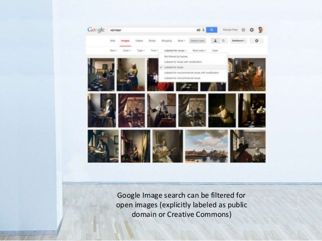 Google Image search can be filtered for open images (explicitly labeled as public domain or Creative Commons)