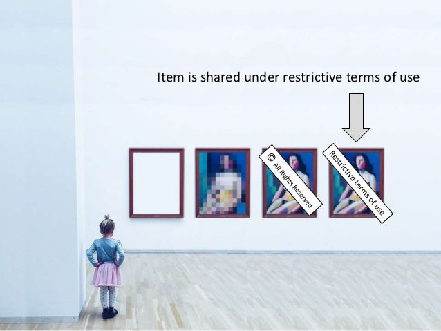 Item is shared under restrictive terms of use
