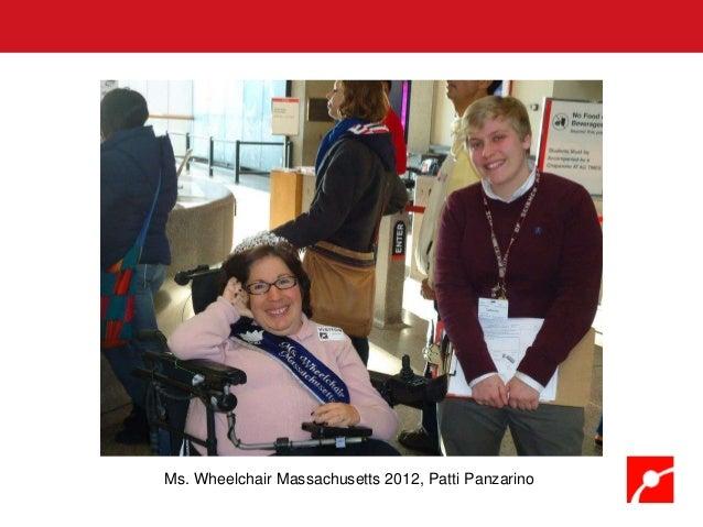 Ms. Wheelchair Massachusetts 2012, Patti Panzarino