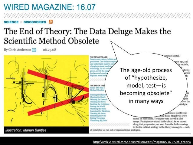 """http://archive.wired.com/science/discoveries/magazine/16-07/pb_theory/ The age-old process of """"hypothesize, model, test—is..."""