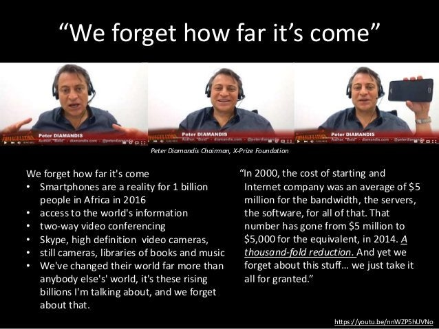 """""""We forget how far it's come"""" https://youtu.be/nnWZP5hUVNo We forget how far it's come • Smartphones are a reality for 1 b..."""
