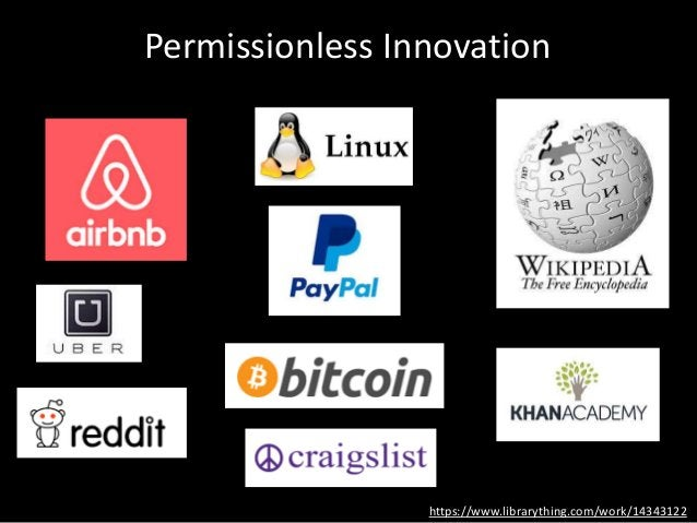 Permissionless Innovation https://www.librarything.com/work/14343122