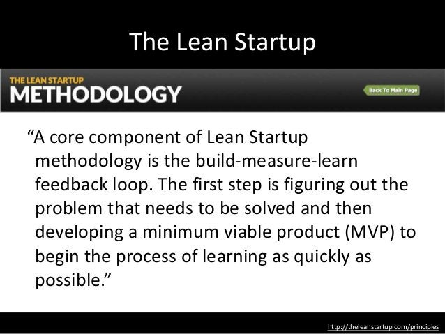 """""""Technology animates the lean start-up process. Free open-source programming tools and easily distributed Web-based softwa..."""