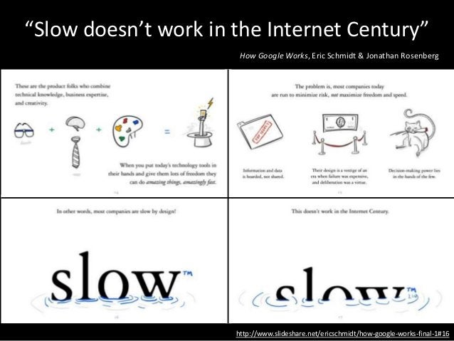 """About slowness… • Some things take time • But behind many """"slow"""" projects are a lot of small, fast things • Most organizat..."""