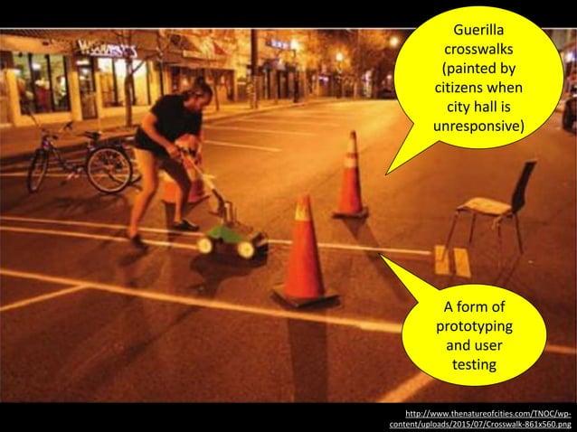 http://www.thenatureofcities.com/TNOC/wp- content/uploads/2015/07/Crosswalk-861x560.png Guerilla crosswalks (painted by ci...