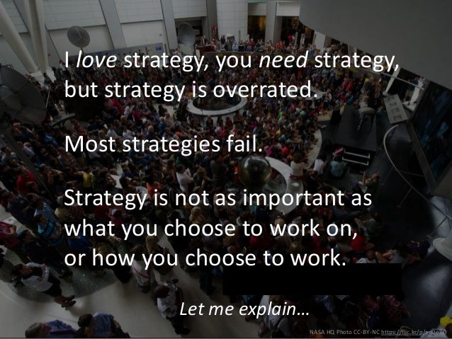 Think Big, Start Small, Move Fast: Digital Strategy in a Changing World Slide 3