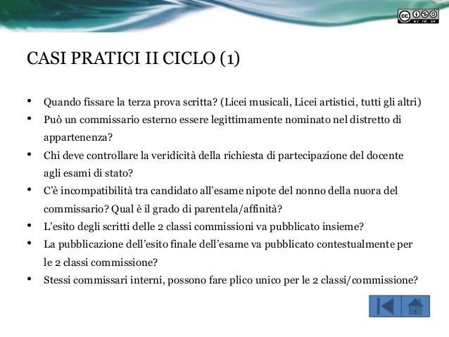 Corso Intensivo Ds Abruzzo Campania Ordinamenti Esami Stato