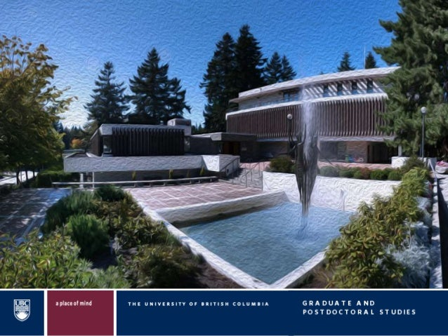 NAVIGATING UBC'S FUNDING LANDSCAPE Brendan Morey Director, Graduate Awards and Funding Graduate and Postdoctoral Studies P...
