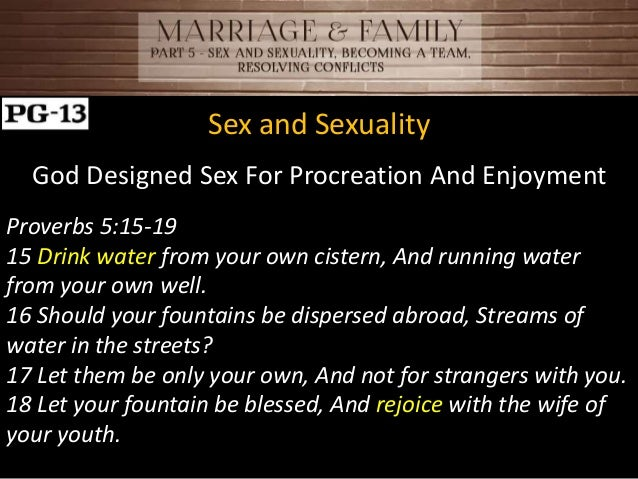 Sexuality commitment and family