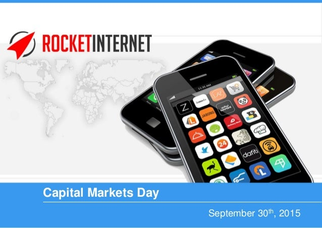 September 30th, 2015 Capital Markets Day