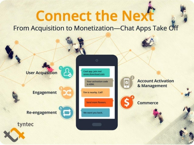 From Acquisition to Monetization—Chat Apps Connect the Next