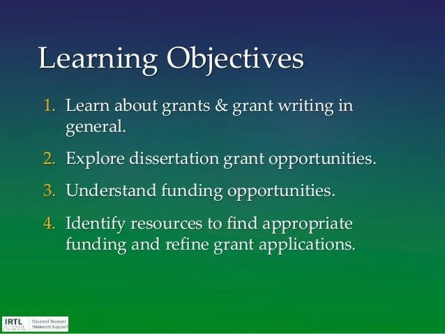 sssp dissertation grant