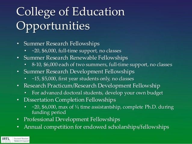 Graduate Student Funding