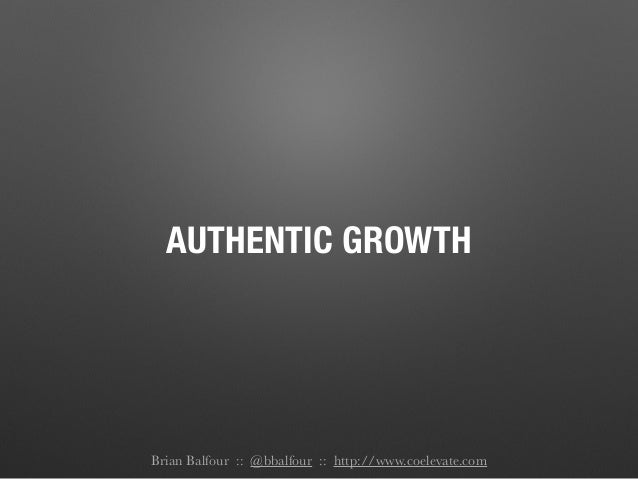 Brian Balfour: Building A Growth Machine Slide 3
