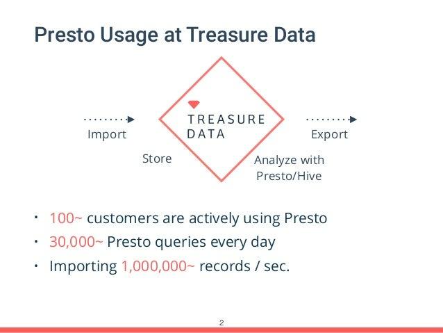 Presto @ Treasure Data - Presto Meetup Boston 2015 Slide 2