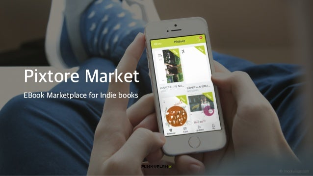 Pixtore Market EBook Marketplace for Indie books