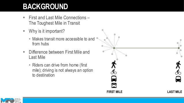 What Is The Difference Between Uber And Lyft >> First-Last Mile Presentation