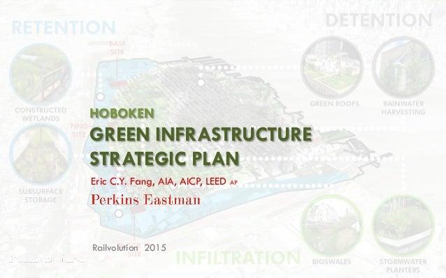 HOBOKEN GREEN INFRASTRUCTURE STRATEGIC PLAN Railvolution 2015 Eric C.Y. Fang, AIA, AICP, LEED AP
