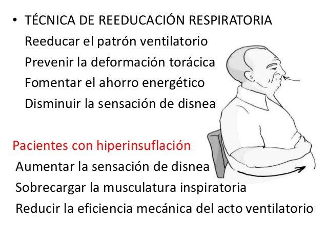 2015 10 8 rehabilitacion respiratoria ppt - Tecnicas de ahorro ...