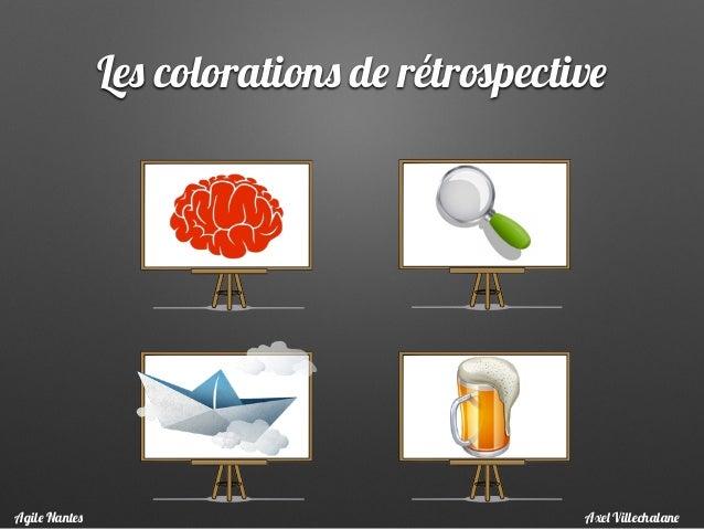 Les colorations de rétrospective Axel VillechalaneAgile Nantes