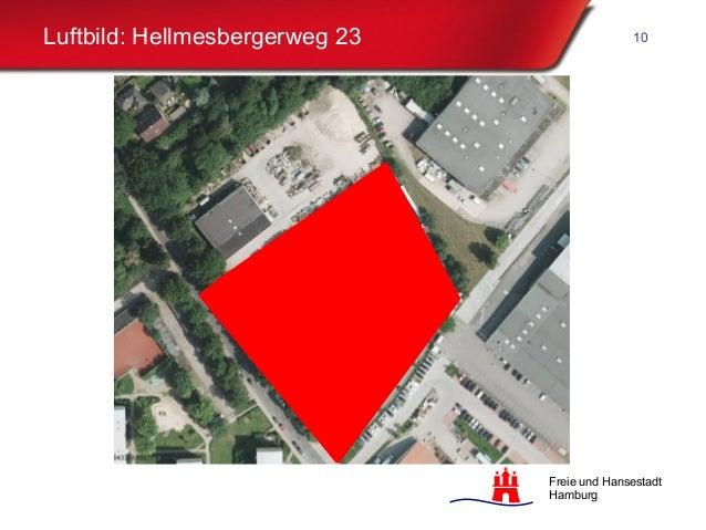 Freie und Hansestadt Hamburg Luftbild: Hellmesbergerweg 23 10