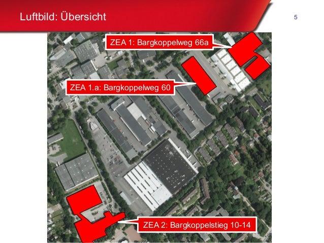 Freie und Hansestadt Hamburg Luftbild: Übersicht 5 ZEA 1: Bargkoppelweg 66aZEA 1: Bargkoppelweg 66a ZEA 1.a: Bargkoppelweg...