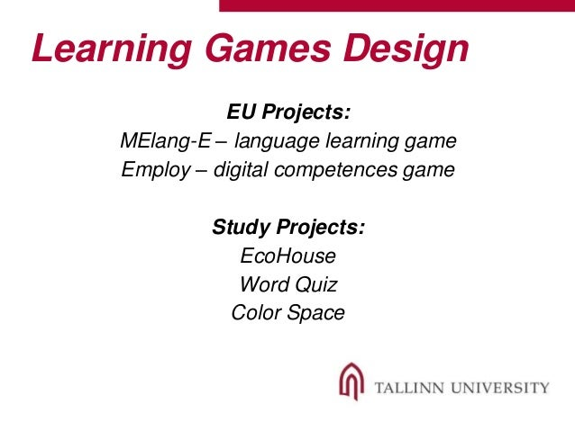thesis game based learning Integration of game-based learning into a social studies curriculum model to improve student performance in the ohio social studies standards in this thesis.