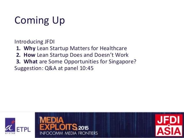 The Lean Startup Model for Healthcare Slide 2