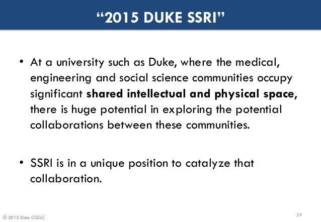 What you need to know for your Duke University - Social Science Research Institute loan