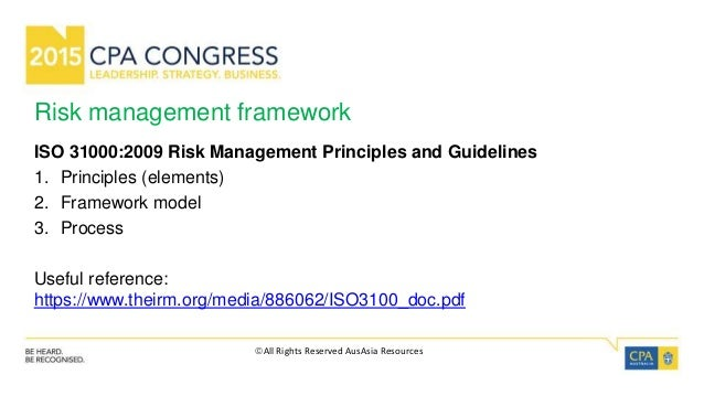 iso 31000 risk management principles and guidelines pdf