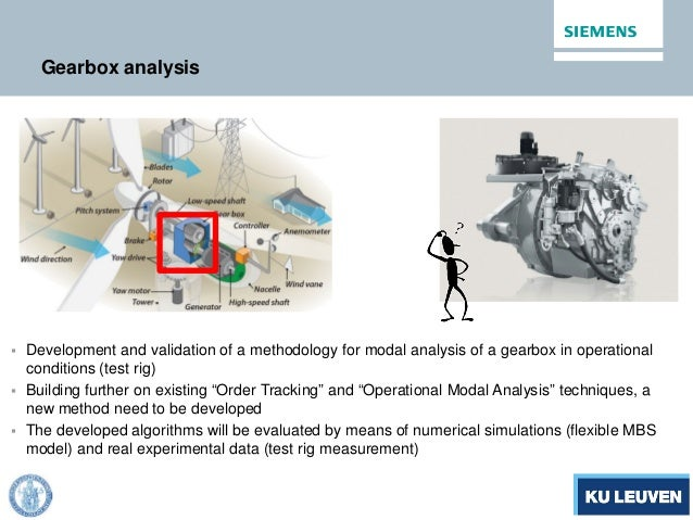 Gearbox analysis  Development and validation of a methodology for modal analysis of a gearbox in operational conditions (...