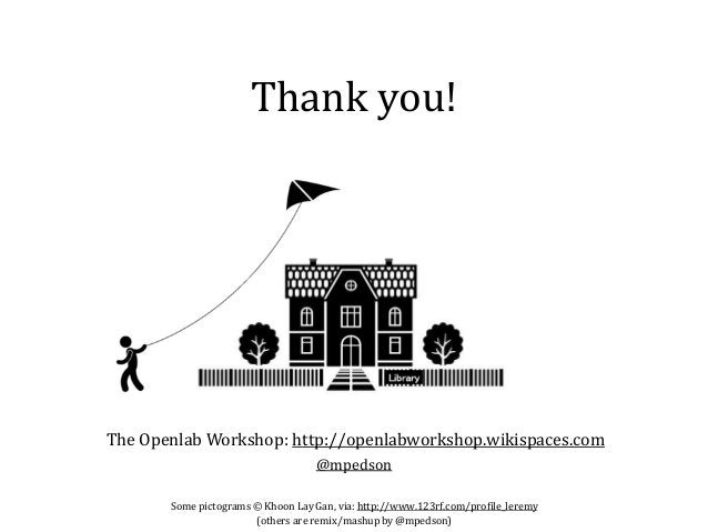 Thank you! Some pictograms © Khoon Lay Gan, via: http://www.123rf.com/profile_leremy (others are remix/mashup by @mpedson)...