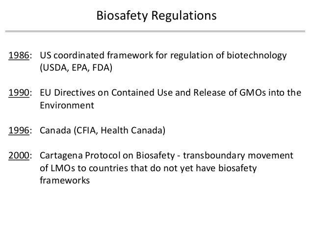 Regulatory definition of GMO - Piet van der Meer