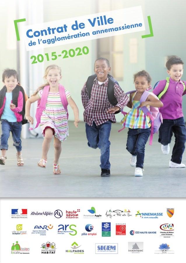 2015-2020 de l'agglomération annemassienne Contrat de Ville Annemasse - Les Voirons Agglomération