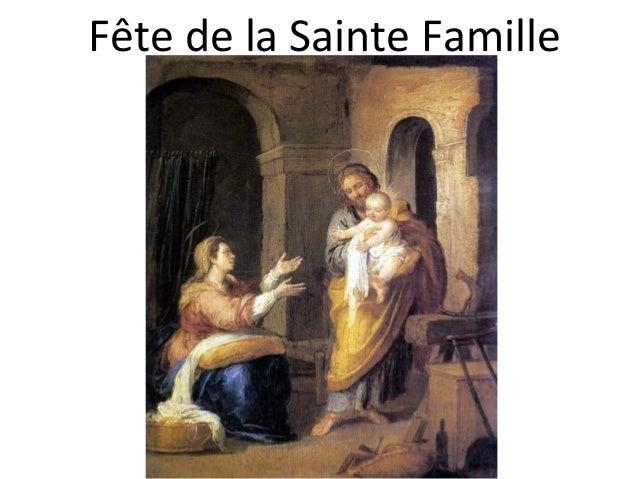 Fête de la Sainte Famille