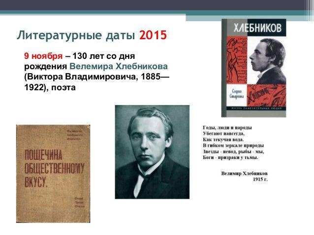 28 ноября – 135 лет со дня рождения Александра Александровича Блока (1881-1921), поэта Литературные даты 2015