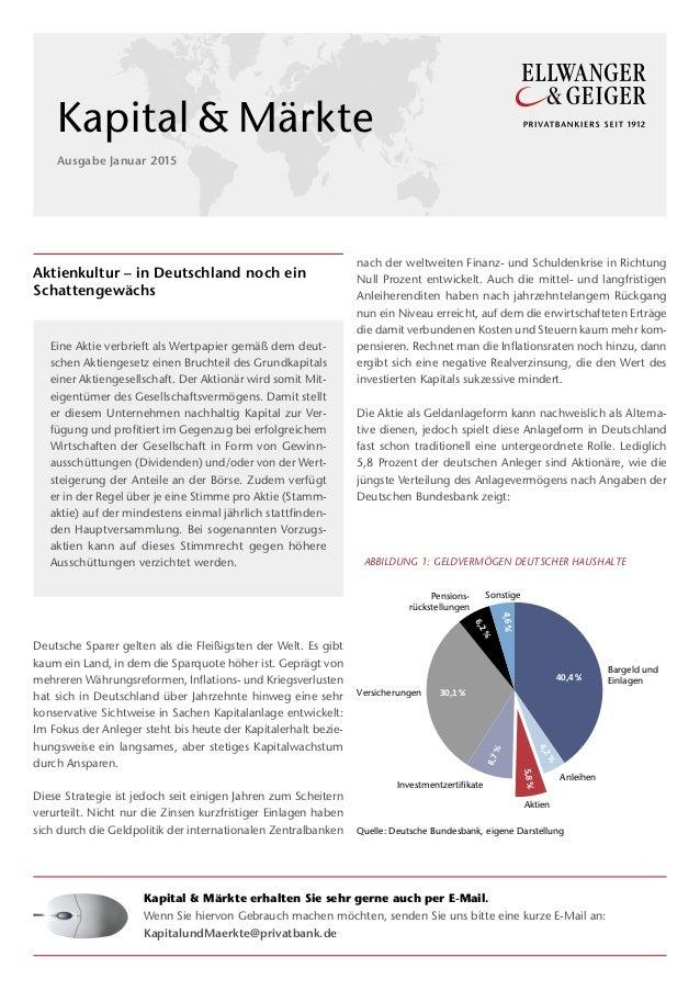 Aktienkultur – in Deutschland noch ein Schattengewächs Deutsche Sparer gelten als die Fleißigsten der Welt. Es gibt kaum e...