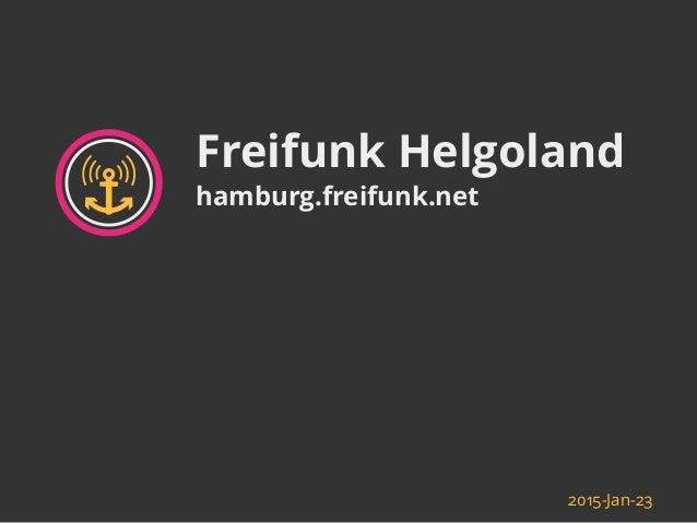 Freifunk Helgoland hamburg.freifunk.net 2015-Jan-23