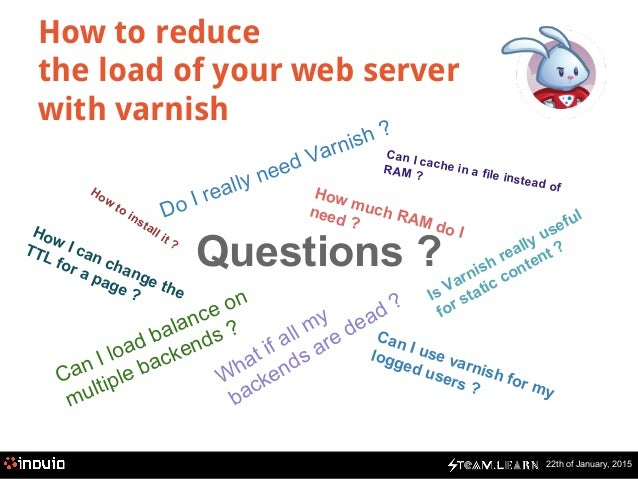 Steam Learn : Varnish or How to reduce the load of your web server