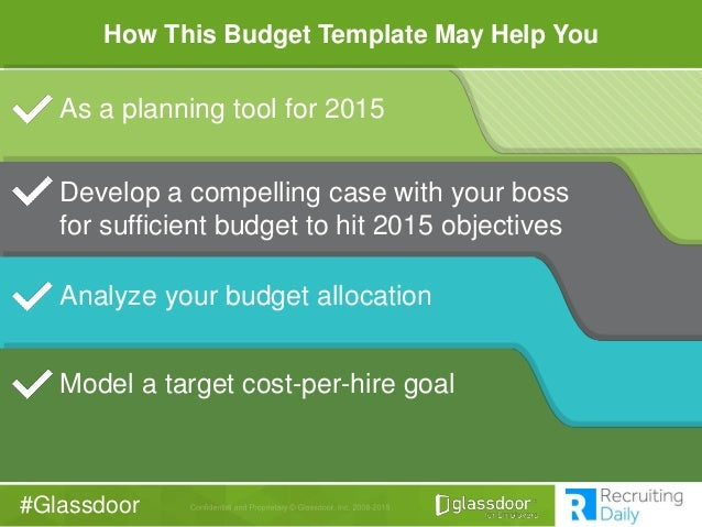 Glassdoor Recruiting Budget Revealed How We Built Our 2014 Budget