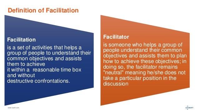 Facilitation and Facilitator Stance