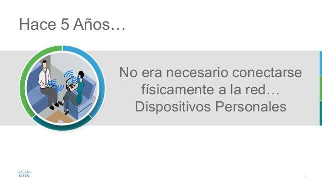 8 No era necesario conectarse físicamente a la red… Dispositivos Personales Hace 5 Años…