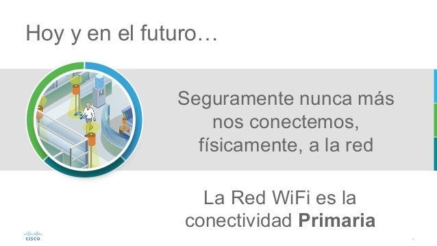 9 Seguramente nunca más nos conectemos, físicamente, a la red Hoy y en el futuro… La Red WiFi es la conectividad Primaria